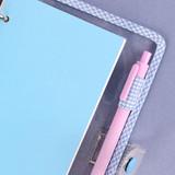 Pen holder - Wanna This Picnic check A6 6-ring PVC binder