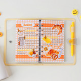 Basic - Wanna This Picnic check A6 size 6 holes paper refills set