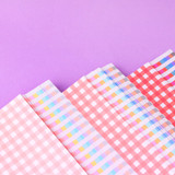 Wanna This Picnic check A5 size 6 holes paper refills set