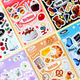 Wanna This Object removable deco 6 sticker sheets set