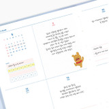 Weekly plan - Kakao Friends 2021 Friends bookmark dated weekly diary