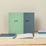 Antenna Shop Better together A5 size grid notebook