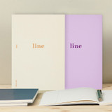 Antenna Shop Better together A5 size lined notebook