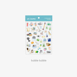 Bubble Bubble - Byfulldesign At home useful deco sticker sheet set