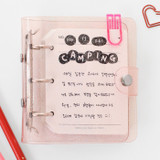 Usage example - 2NUL Drawing days paper sticker set of 5 sheets