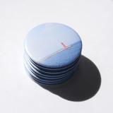 Ocean - Meri Film Jeju macaron round hand mirror