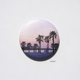 Sunset - Meri Film Jeju macaron round hand mirror