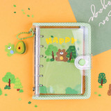 Usage example - Wanna This Forest's tree paper sticker