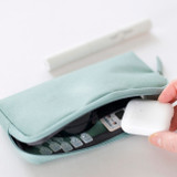 Usage example - Byfulldesign Oxford multi pocket long zipper pouch