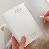 Personal data - Indigo 365 days dateless gratitude daily journal