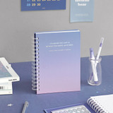 ICONIC Heyday 6 months hardcover dateless study planner
