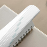 Monthly tab - ICONIC Heyday 6 months hardcover dateless study planner