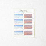 Meri Film Cloud and Sunset label sticker set of 5 sheets
