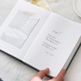 Usage example - Indigo Prism 280 hardcover lined notebook