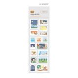 04 Moment - Indigo Daily life removable sticker seal 1-10