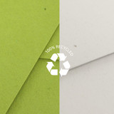 Recycled paper - PAPERIAN Recycled paper A4 document envelope file folder