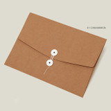 Cinnamon - PAPERIAN Recycled paper A4 document envelope file folder