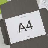 A4 size - PAPERIAN Recycled paper A4 document envelope file folder
