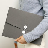 PAPERIAN Recycled paper A4 document envelope file folder