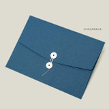 Ocean blue - PAPERIAN Recycled paper A4 document envelope file folder