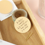 PAPERIAN Round large planner bookmark sticky notepad