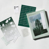 Usage example - After The Rain Variety graphic stickers and postcards pack