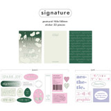 Signature - After The Rain Variety graphic stickers and postcards pack