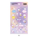 RJ - BT21 Dream baby pastel clear sticker