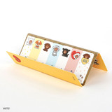 Monopoly Brown and friends sticky index bookmark set