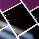 2NUL Starry wide A6 6 ring blank note paper refill set