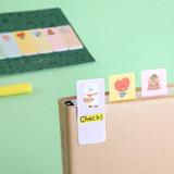 Usage example - BT21 Sticky index bookmark set