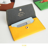 Yellow - Business card case