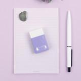 Bookfriends Korean literature white pencil eraser