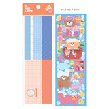 03 Take a Bath - Wanna This Today Monggeul bear removable sticker seal