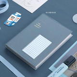Indi blue - ICONIC Bubbly dateless weekly diary planner