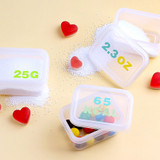 Usage example - Wanna This Square Alphabet Number paper sticker set