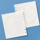 Jam Studio Daily time plan wide A6 6 ring paper refill set