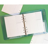 Usage example - Jam Studio Study planner wide A6 6 ring paper refill set