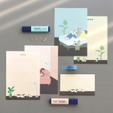 04 Miss you - ICONIC Haru letter and envelope set