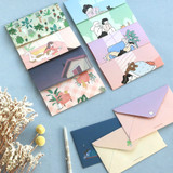 ICONIC Haru letter and envelope set