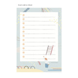 Play Like a Child - SOSOMOONGOO Sojak5 Happy hobby memo checklist notepad