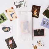 SOSOMOONGOO Sojak5 Happy hobby removable stamp sticker pack