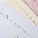 300gsm paper - SOSOMOONGOO Sojak5 Happy hobby message card and envelope set