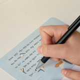 Usage example - SOSOMOONGOO Sojak5 Happy hobby message card and envelope set