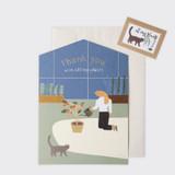 My plants - SOSOMOONGOO Sojak5 Happy hobby jumbo card and envelope set