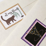 Sticker seal - SOSOMOONGOO Sojak5 Happy hobby jumbo card and envelope set