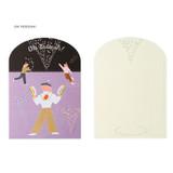Oh Yeeeeah - SOSOMOONGOO Sojak5 Happy hobby jumbo card and envelope set