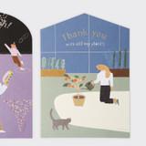 SOSOMOONGOO Sojak5 Happy hobby jumbo card and envelope set