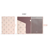 Cony - Monopoly Brown and friends pocket file documents holder