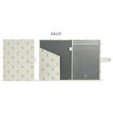 Sally - Monopoly Brown and friends pocket file documents holder